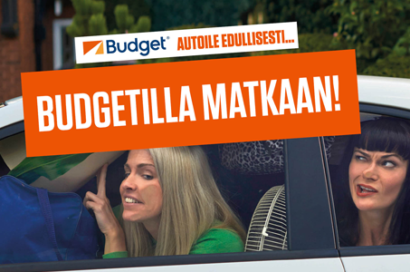 Budgetilla matkaan!