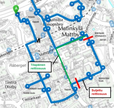 Bus routes 137 and 138 diverted from 23 October | HSL