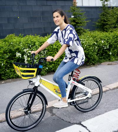 Kuvituskuva Vantaan kaupunkipyörästä
