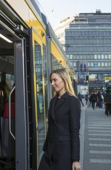 Raitiovaunujen reitit uudistuvat 14.8.2017