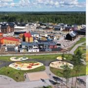 Kuvituskuva: Asuntomessualue ja bussi 963 pysäkillä. Kuvaaja Lauri Eriksson