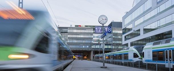 Sm5-juna Helsingin päärautatieasemalla