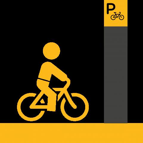 Pyöräparkkien opastusmerkinnät