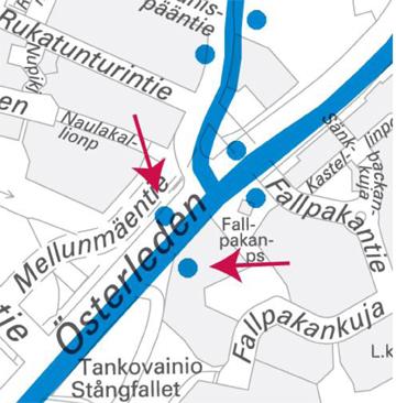 Mellunmäentien pysäkit käyttöön linjoille 93 ja 93K 3.2.2014