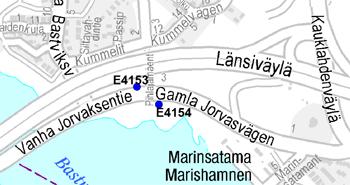 Vanhalle Jorvaksentielle uudet pysäkit 8.12.2014