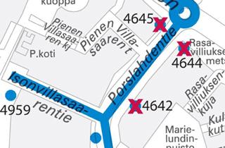 Bussin 815 pysäkkimuutokset 7.1.2015 alkaen