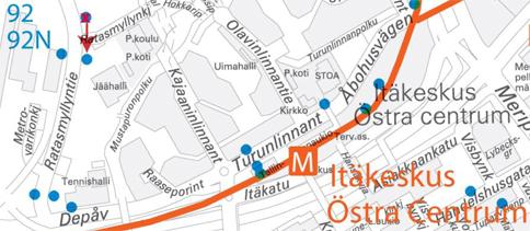 Pysäkkimuutos Ratasmäentiellä 28.2.