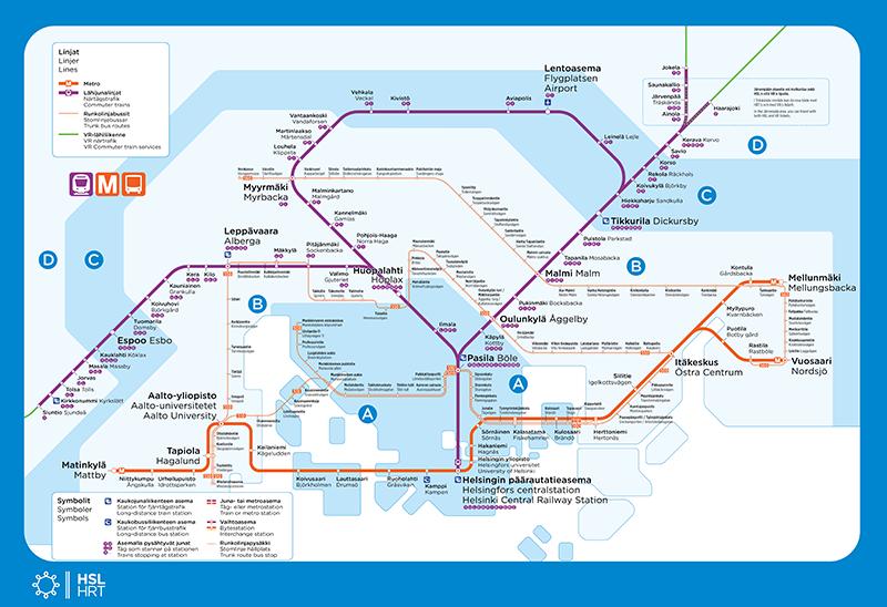 Subway Map 1 Train Route.Route Maps Hsl