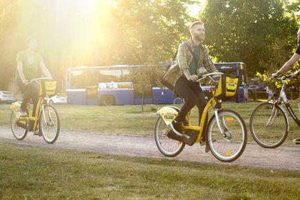 Suuri osa käyttäjistä yhdistää matkallaan säännöllisesti kaupunkipyörät muuhun joukkoliikenteeseen.