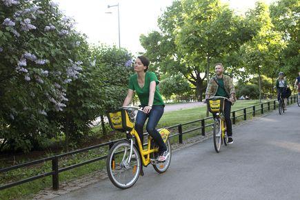 Kaupukipyörät palkittiin terveyden edistämisestä.