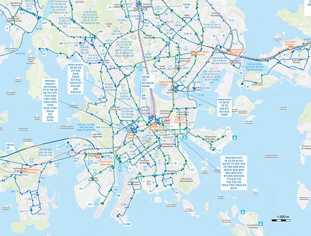 Route maps HSL