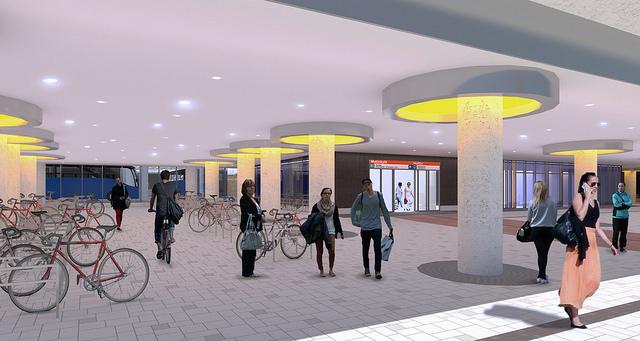 Matinkylän metroaseman sisäänkäynti