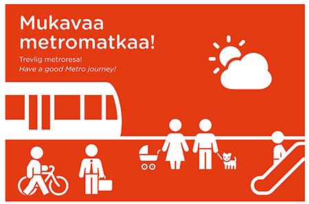 Mukavaa metromatkaa