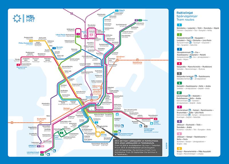 Route maps | HSL