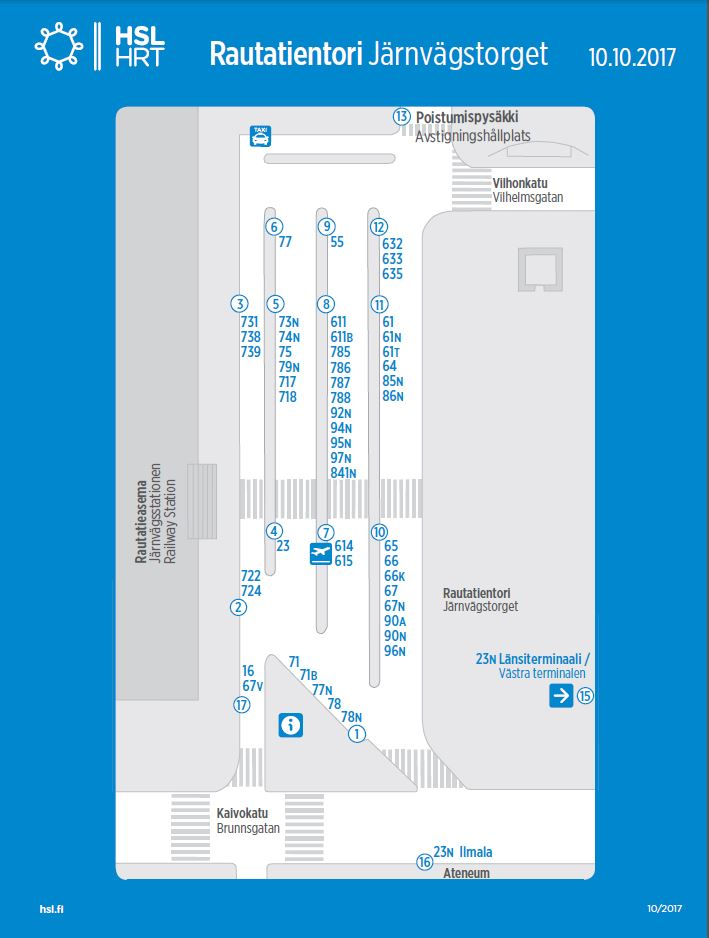 All Departure Bays At The Railway Square In Use Changes To Bus