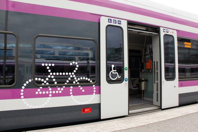 Polkupyörä Metrossa